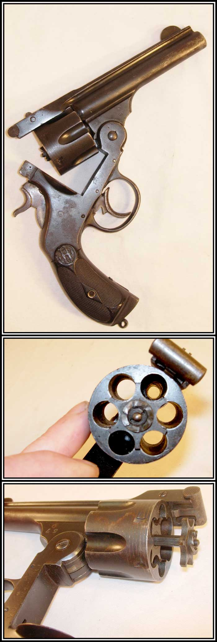 z Sold ~ Antique COPY of Smith and Wesson First Model DA